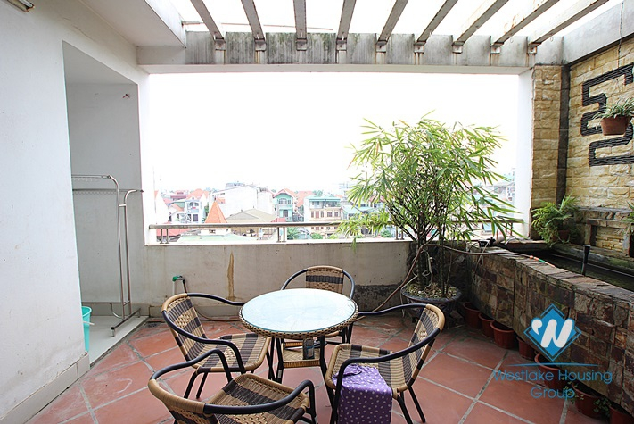 Large bright and airy one  bedroom apartment for rent in Tay Ho district, Hanoi