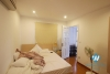 Spacious one bedroom apartment for rent in Tay Ho