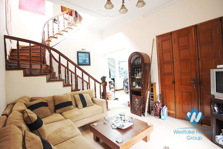 03 bedrooms charming house  for rent in Tay Ho, Hanoi