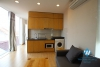 Lake view one bedroom rental apartment on Dang Thai Mai, Tay Ho