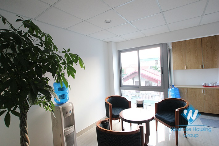 Nice office for rent in Tay Ho area, Ha Noi
