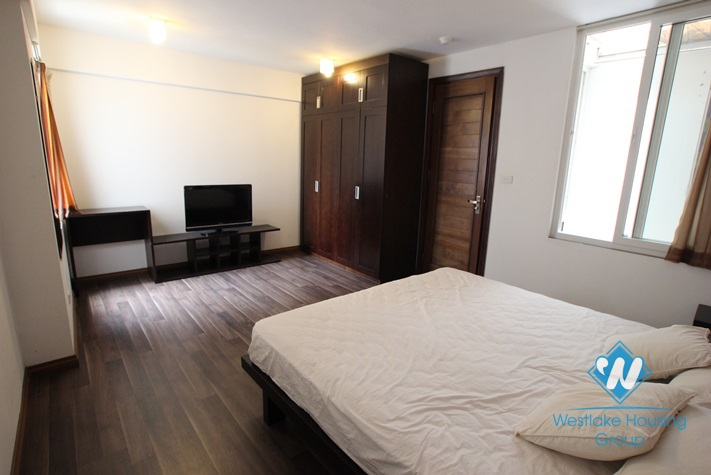 Serviced apartment available for lease in Dang Thai Mai street, Tay Ho, Hanoi