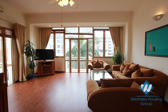 Apartment on the higher floor for lease in Westlake area, Hanoi