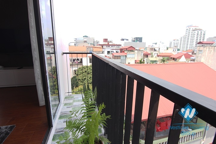 Lovely apartment for rent on Xuan Dieu, Tay Ho