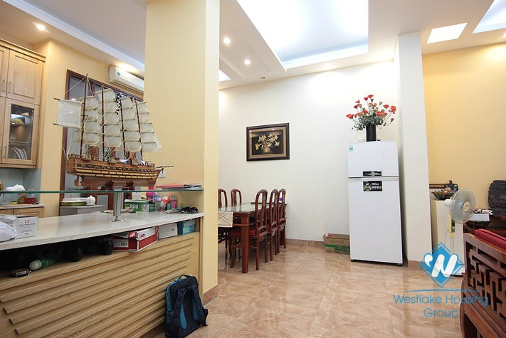 Nice and lovely house for rent in Tay Ho area, Hanoi.