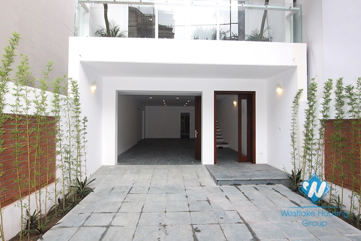 Beautiful large-sized house for rent on To Ngoc Van, Tay Ho, Hanoi