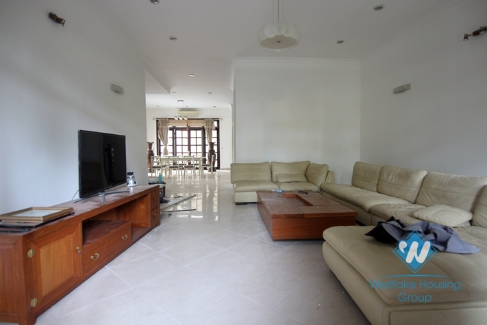 Beautiful and spacious villa for rent in Ciputra Complex