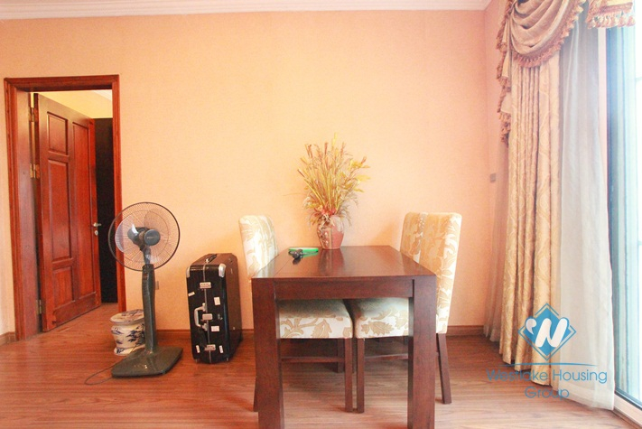 One bedroom apartment with a huge back yard garden for rent on Xuan Dieu