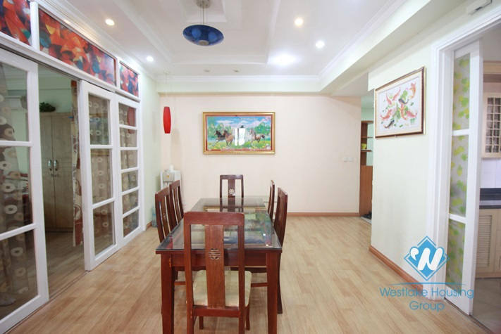 Apartment with amazing view for rent in Ciputra, Tay Ho, Hanoi