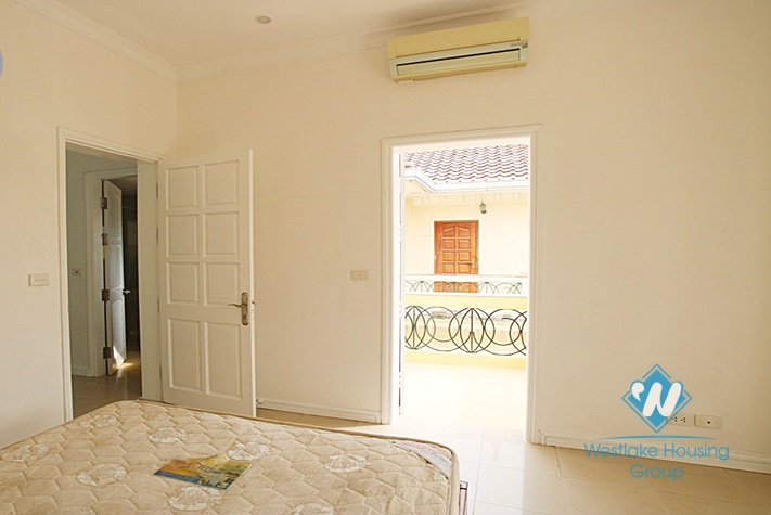 Large house for rent in D block, Tay Ho, Hanoi