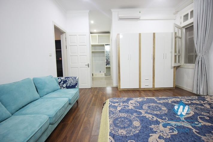 The 4-bedroom fully furnished apartment at Ciputra is located in a quiet area with fresh air