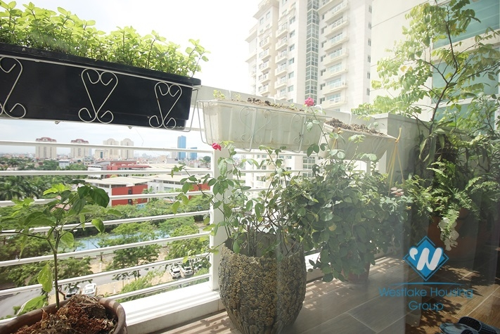 Three bedrooms apartment for rent in E building Ciputra, Ha Noi