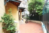 Nice house with big garden for lease in To Ngoc Van st, Tay Ho, Ha Noi