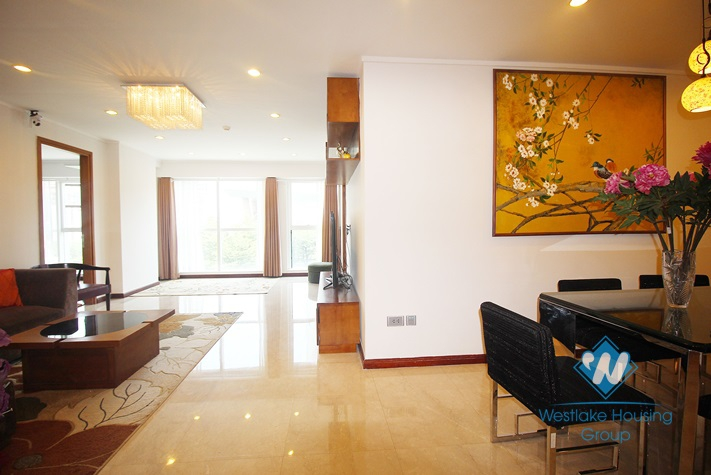 Good quality apartment for rent in Ciputra L Tower, Tay Ho district