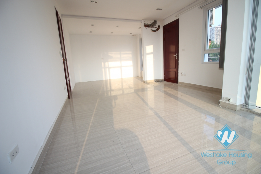 Spacious office for rent on To Ngoc Van, Tay Ho, Hanoi
