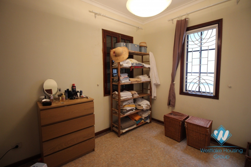 Charming house for rent in a quiet alley in Tay Ho, Hanoi