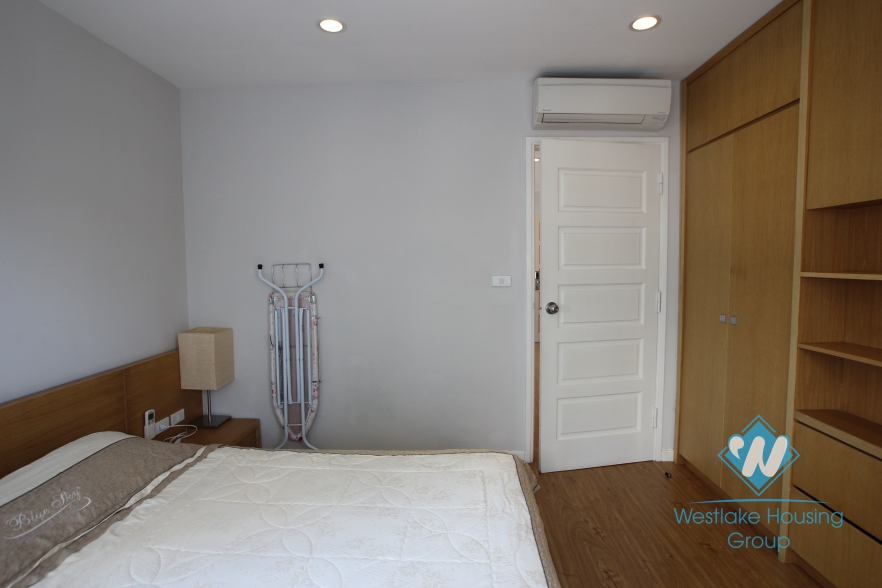 Furnished 1 bedroom apartment for lease on To Ngoc Van street, Tay Ho, Hanoi
