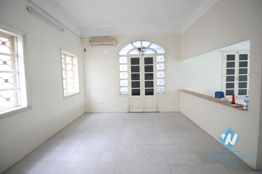 A big house next to the main street for rent in Tay Ho, Ha Noi