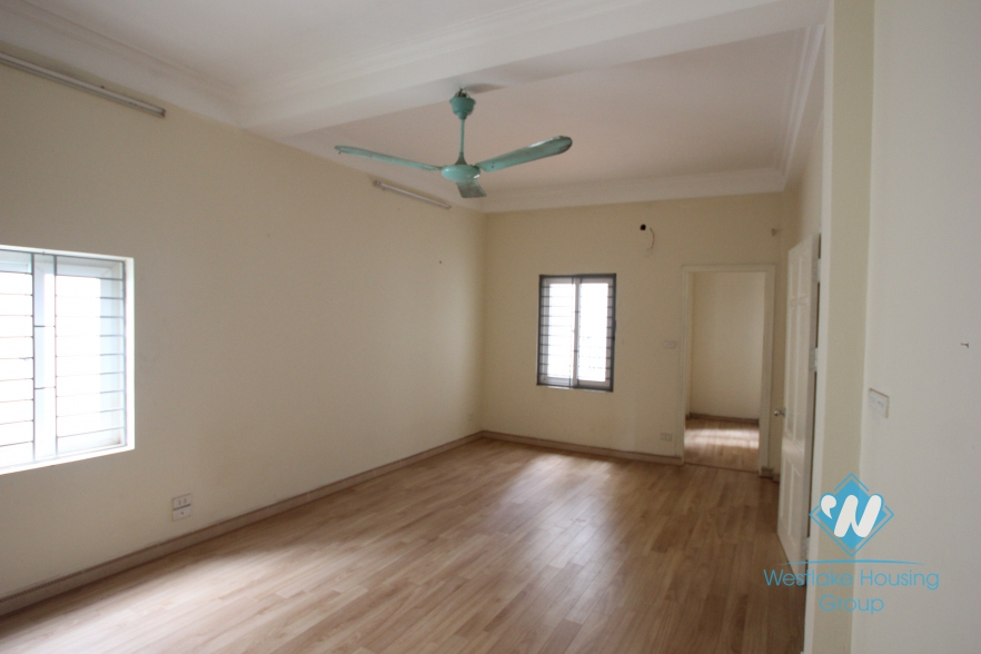 3 bedroom house for rent on Dang Thai Mai Street, Tay Ho, Ha Noi - unfurnished