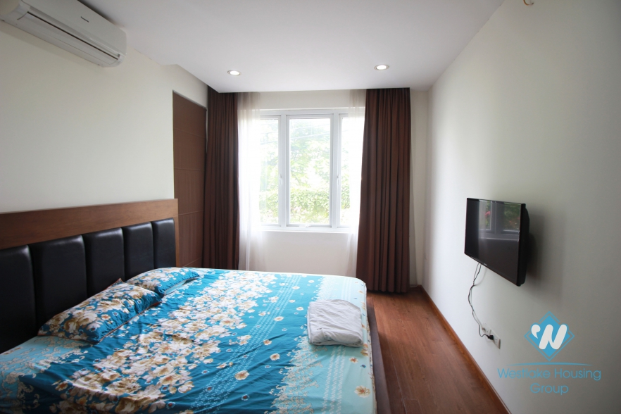 Nice lake-viewed apartment apartment for rent in Tay Ho, Hanoi