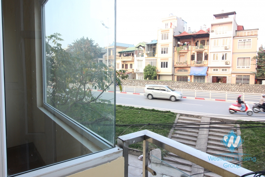 Large 5 storey house with 140 sqm a floor for rent on a main street in Tay Ho, Hanoi