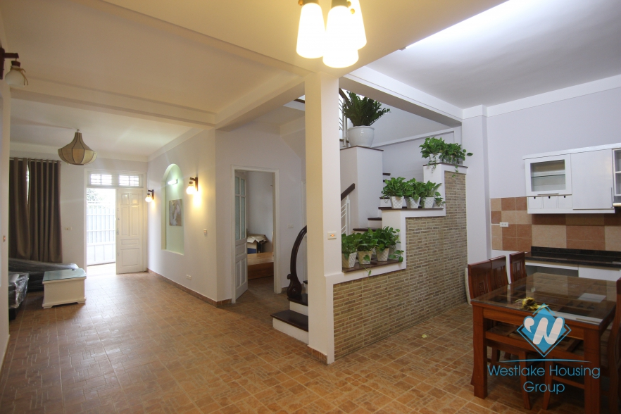Modern house with lovely bedrooms for rent in Tay Ho, Hanoi