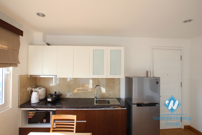 one bedroom apartment for rent in Pham Huy Thong st, Ba Dinh