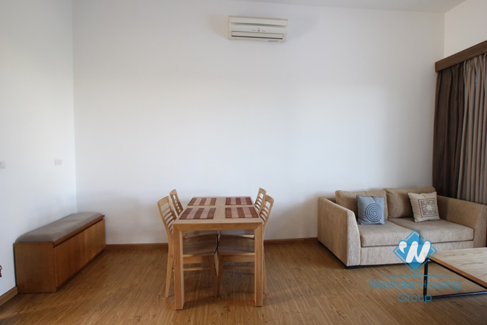 Nice apartment for rent in Pham Huy Thong, Ba Dinh, Ha Noi