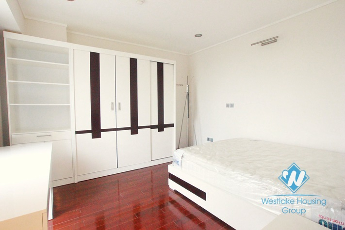 Brand new apartment for rent in L block, Ciputra, Tay Ho, Hanoi