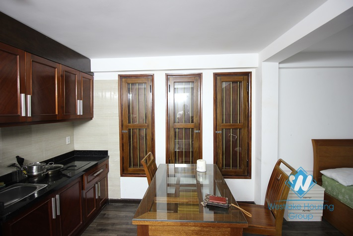 Cheap studio apartment for rent in Cau Giay area, Hanoi