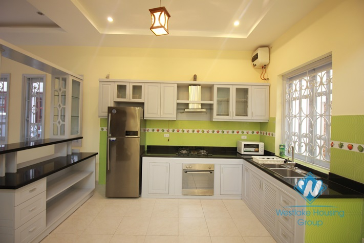 Brand new and nice house with 4 floor for rent in Tay Ho District.