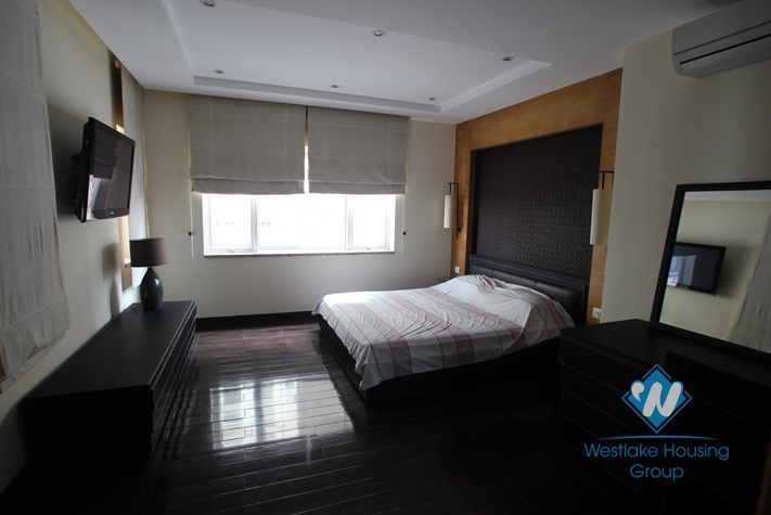 High quality and modern serviced apartment for rent in Tay Ho area, Ha Noi