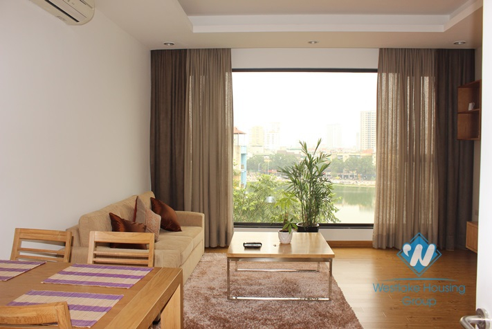 Bright and modern apartment available for rent in Ba Dinh district, Hanoi