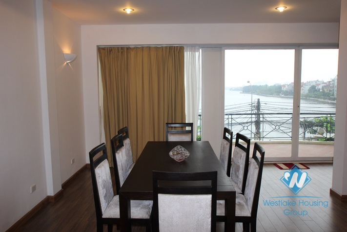 Brand new, high quality apartment with lake view available for rent in West lake area, fully furnished