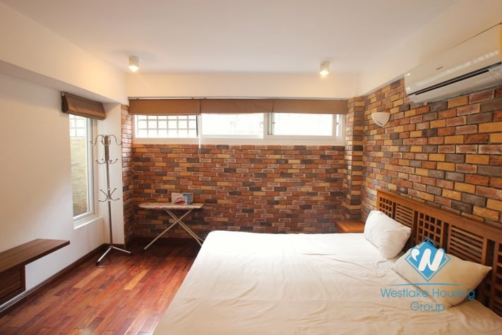 Furnished 2 bedroom apartment for rent in Tay Ho