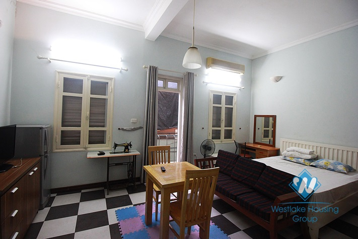 Beautiful studio apartment for rent in To Ngoc Van St, Tay Ho District, Ha Noi