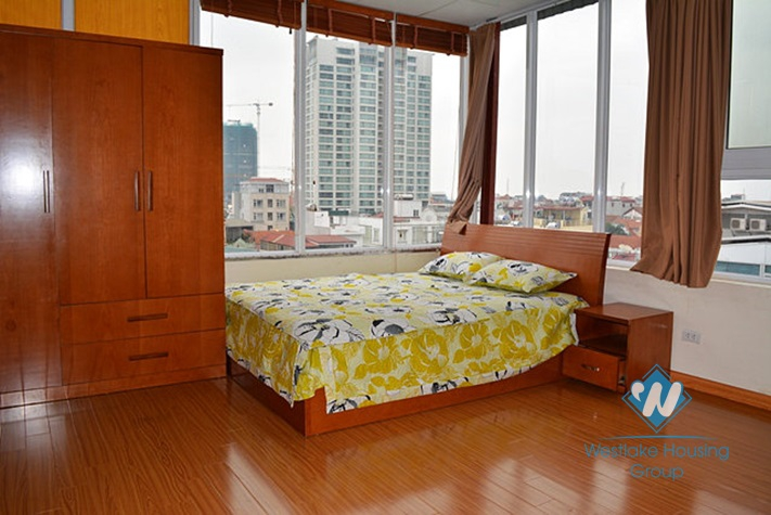 Lakeview studio apartment for rent on Quang An, Xuan Dieu -Tay Ho-Ha Noi