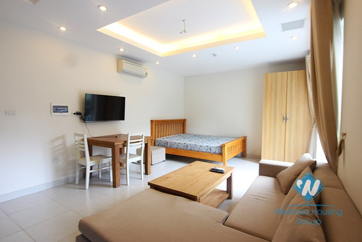01 bedroom serviced apartment available for rent in Tay ho