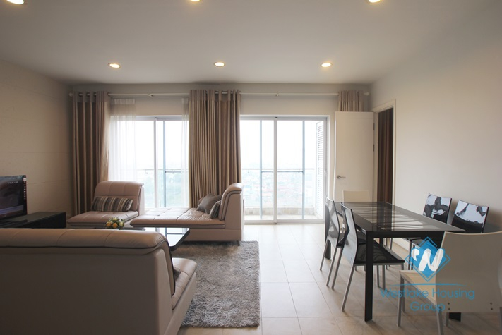 2 bedroom apartment with city view available now in Golden Westlake Ha Noi