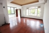 Wood floor house with a lot of light and 4 bedrooms for rent in Peach garden - Westlake, Tay Ho, Hanoi, Vietnam