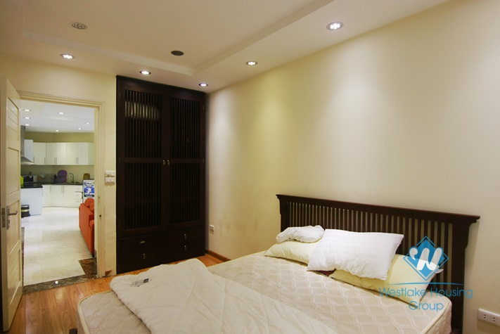Two bedrooms apartment for rent in Hao Nam st, Dong Da district, Hanoi