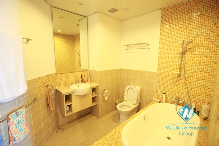 Wonderful 03 bedrooms apartment for rent in W Tower- Golden Westlake- Tay Ho- Hanoi