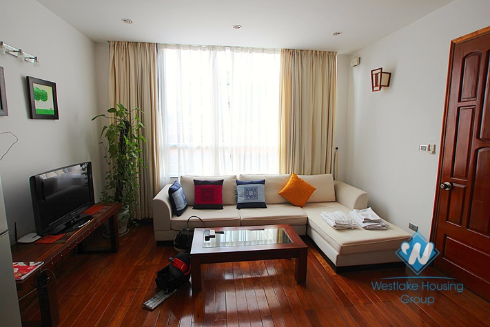 Cosy one bedroom serviced apartment in Truc  Bach area, Ba Dinh, Hanoi