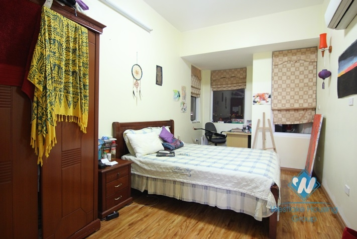 Affordable, high rise condo apartment for rent in 713 Lac Long Quan, Tay Ho, Hanoi