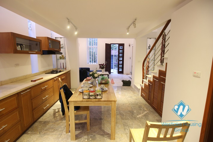 Brandnew house with outstanding design for rent in Tay Ho
