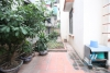 Inexpensive large house with garden and rooftop terrace for rent in Tay Ho, Hanoi