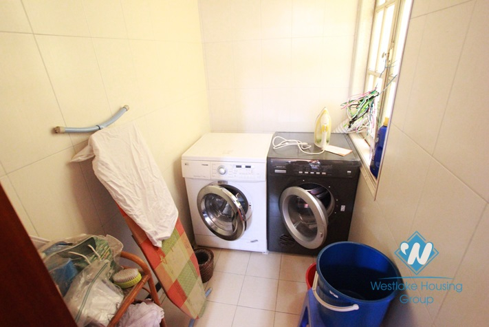 Nice and bright house for rent in Tay Ho area, Ha Noi