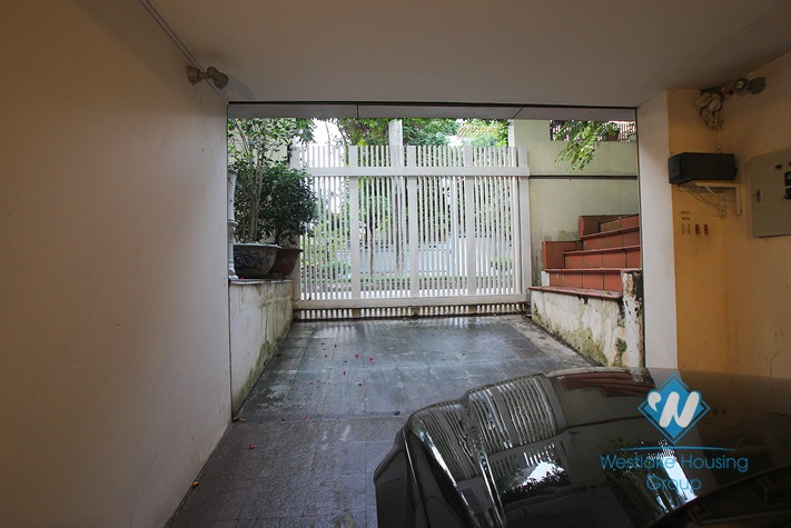 Nice house for rent Vuon Dao area, Tay Ho district, Hanoi