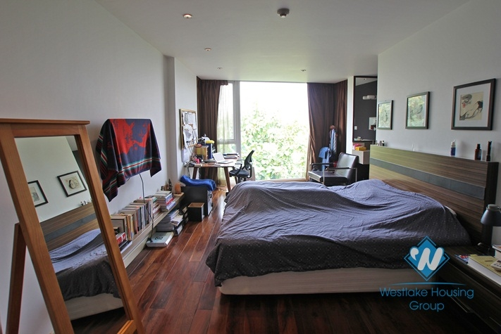 Modern serviced apartment for rent on Tay Ho, Ha Noi