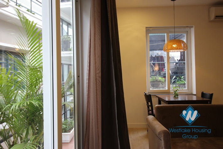 High quality one bed apartment for rent on To Ngoc Van, Tay Ho, Hanoi